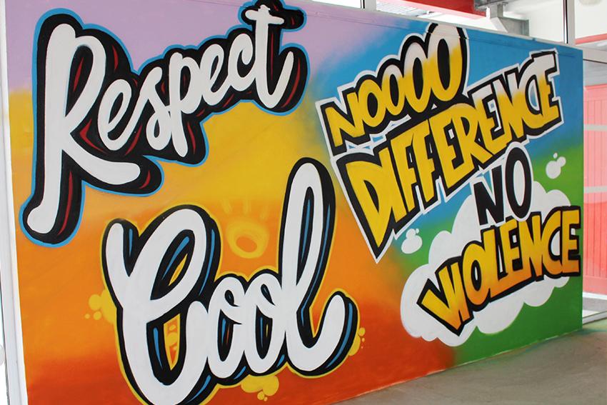 Atelier graffiti au Rohan à vannes
